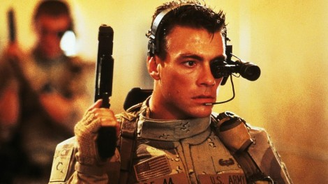 original wallpaper download: Hollywood Movie star Jean-Claude Van Damme as universal soldier